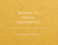Sharaf DG Partial Rebranding.