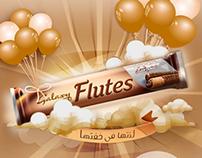 "Flutes ""لذتها فى خفتها "" activations."