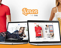 Limon - Multistore Ecommerce PSD Template