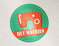 """Logo design """"Het Machien"""""""