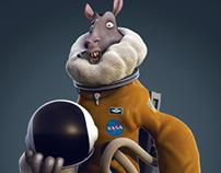Sheep Astronaut