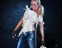 Rockstar - Milk Dress