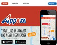 Appaja Website Design