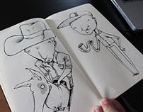 Sketchbook 2013 - Part 2