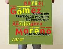 Poster Visiting Professors / R. Gomez - A. Moreno