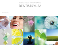 DentistryUSA logo design and branding