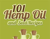 101 Hemp Oil and Seed Recipes E-book Cover