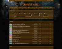 Ncore Spooky Dayz Web Design