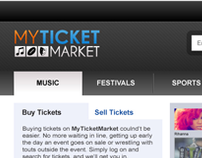 MyTicketMarket Website Refresh