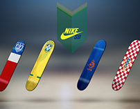 Nike World Cup Skateboards