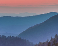 The Great Smoky Mountains in HDR