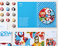 Alchemy branding and stationery