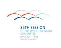 World Heritage Committee branding  for Bahrain