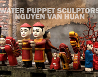 Water puppet sculptors Nguyễn Văn Huân