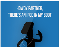 iPod ad - Toy Story style