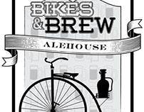 Bikes & Brew Alehouse: Logo Concept
