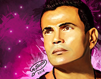 Amr Diab | Digital Painting