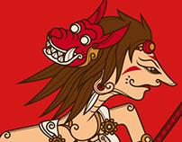 Princess Mononoke (ghibli) - Wayang