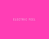 FREE FONT - Electric Feel