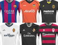 La Liga Football Kit Designs