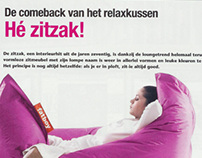 Highlife Magazine: De comeback van het relaxkussen 2005