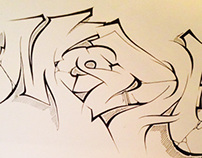 Mr.MODA ! Sketch book