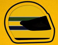 Ayrton Senna - Poster