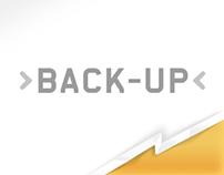 Back-up Corporate Website Design