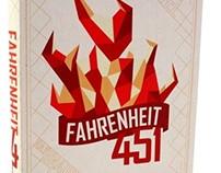 Fahrenheit 451 Book Covers
