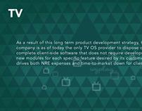 Wyclub TV UI - HTML5 / CSS3