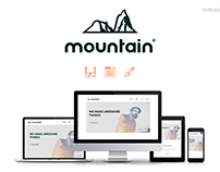 Branding & Website - Mountain