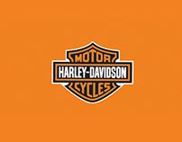Harley-Davidson - Affiche Stand