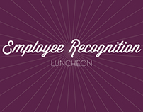 Employee Recognition Luncheon Program