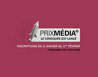 Prix Média - 12ème éditions