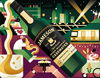 Jameson Whiskey Mural: Venice