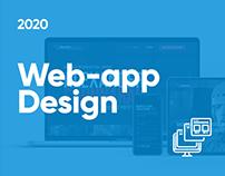 SaaS app design