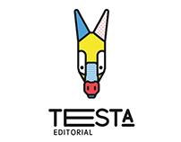 Testa Editorial, creación de la marca gráfica