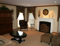 Traditional Family Room Remodel, Vernon Hills, IL