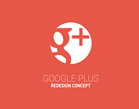 Google+ Redesign Concept