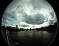 London in the Fisheye