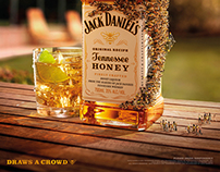 Jack Daniels 'Draws a Crowd'