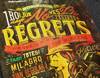 No Regrets Workers' Day Flyer