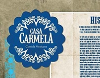 CASA CARMELA / MENÚ
