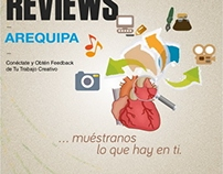 portfolio review poster