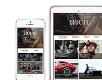 Route Magazine + Mobile Design