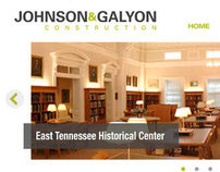 Johnson and Galyon Construction Website