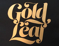 Gold Leaf - A2 format poster