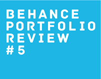 Behance Portfolio Review #5