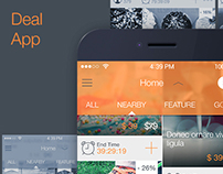 Deal App iOS7 - UI Kit for Mobile - Download PSD