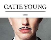 Branding for Catie Young: Writer & more